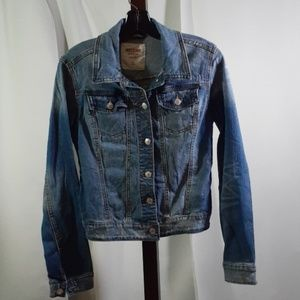 Jean Jacket button up Mossimo Medium